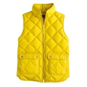 J. Crew || Excursion Quilted Down Puffer Vest